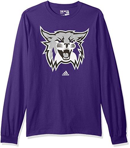 NCAA Weber State Wildcats Adult men School Logo L/S - Weber State Football