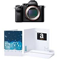 Sony a7S II ILCE7SM2/B 12.2 MP E-mount Camera with Full-Frame Sensor, Black w/ $300 Gift Card
