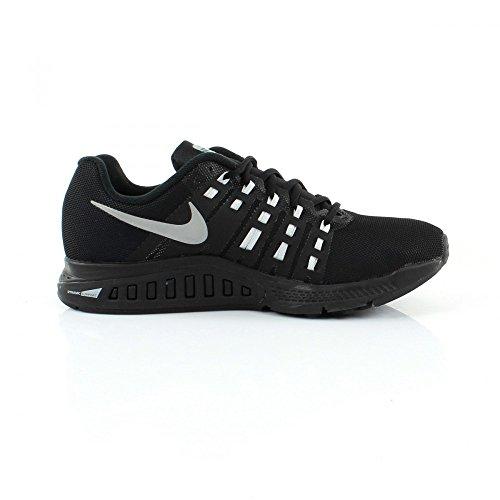 Nike Air Zoom Structure 19 Flash, Zapatillas de Running para Hombre Negro / Plata / Gris (Blk / Rflct Slvr-Cl Gry-Pr Pltnm)