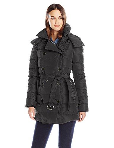 London Fog Women's Lf Heritage Beltedd/B Down Coat, Black...