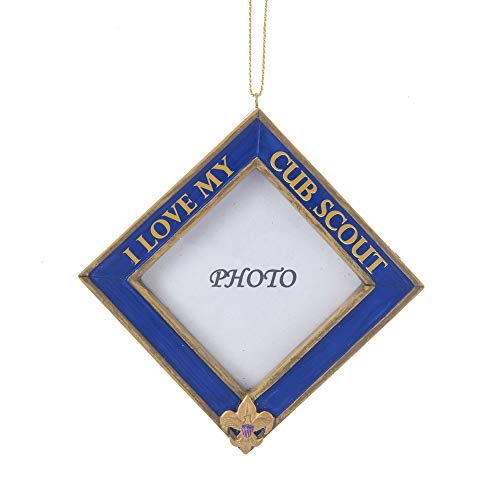Kurt Adler Boy Scouts Of America Cub Scout Picture Frame Ornament