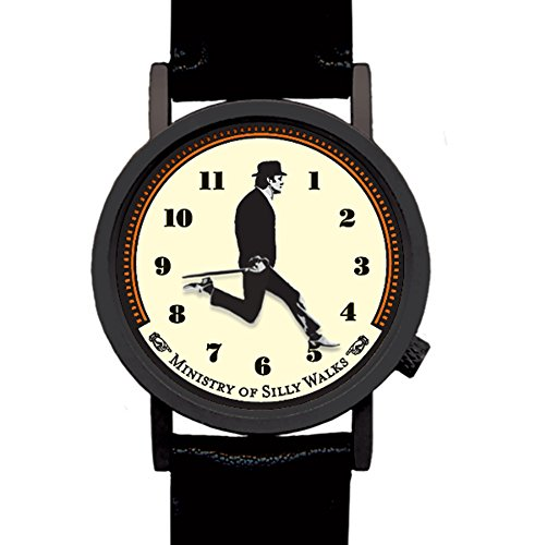 Monty Python-Silly Walks Ministerium Uhr Armbanduhr Geek- Funny Humor