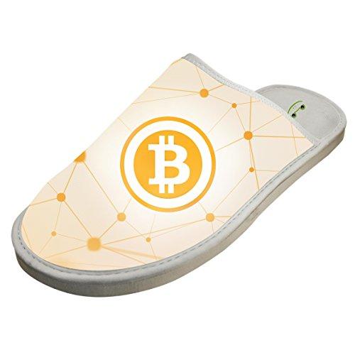 Winter Cotton Golden Net Bitcoin Antiskid House Slippers Baboosh Indoor Slippers by 4B854DF6B