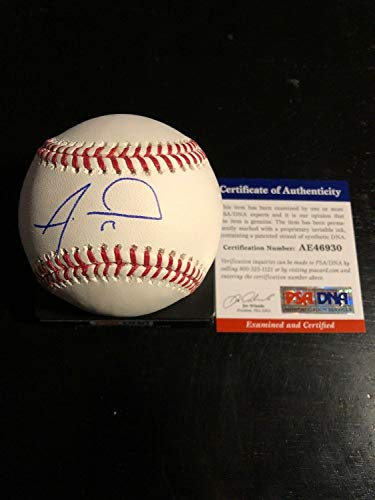 Alex Wood Autographed Signed RoMLB Ss Ball Coa Cincinnati Reds - Authentic Memorabilia