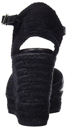 Black C8edss18025 100 Femme Espadrilles Castañer Carol Noir 0nBqwzx