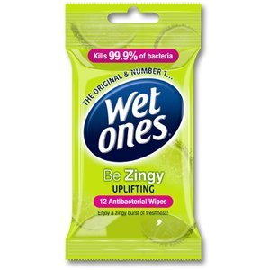Wet Ones Be Zingy Anti-Bacterial Wipes Cleansing Ref X5642750 na