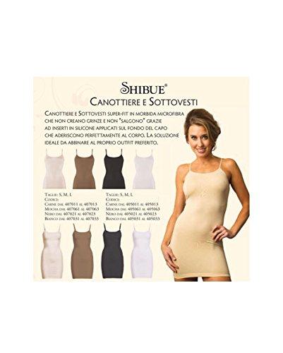 shibue Couture Non-slip Tank–Forma endes Tank Top–Color Nude (piel), tamaño M