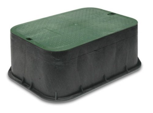 (NDS 115 Standard Series Extension with Overlapping Cover, 14-Inch by 19-Inch by 6-Inch, Green )