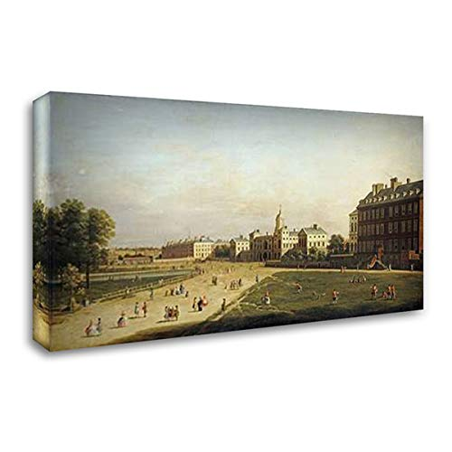 A View of The New Horse Guards 40x24 Gallery Wrapped Stretched Canvas Art by English School ()