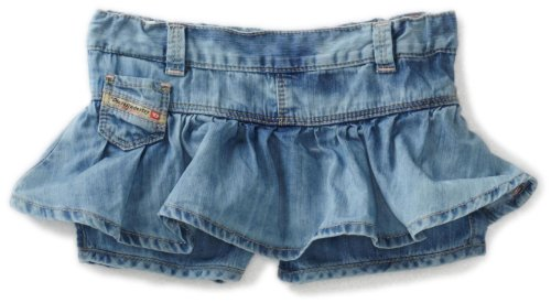 Diesel Baby Girls' Gideab Fashion Skirt, Blue, 12 Months