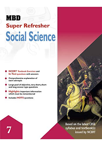 MBD SUPER REFRESHER SCIENCE VII CBSE E Harsha Singh