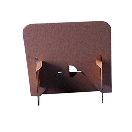 Soporte de muestra de cart/ón de la marca Stand-Store paquete de 50 unidades color marr/ón