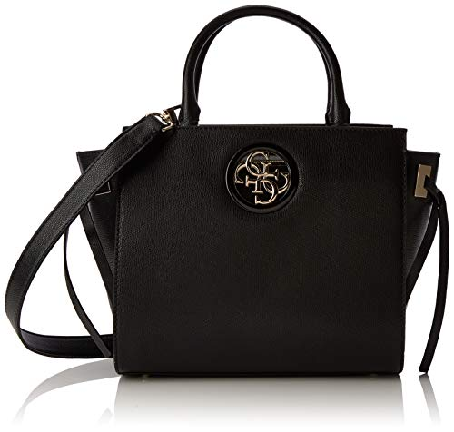 Guess Open Road Society Satchel, Borsa a Mano Donna