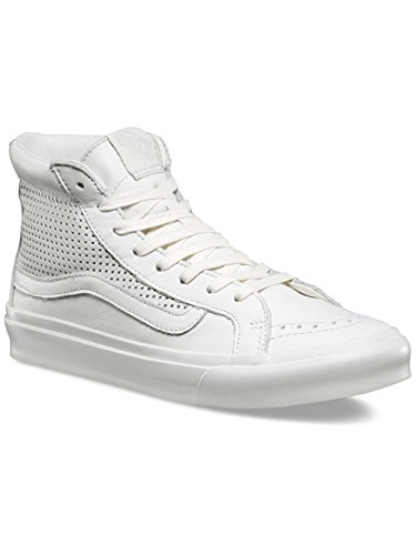 Vans Womens Blanc De Blanc SK8-Hi Slim Cutout DX Trainers-UK 7