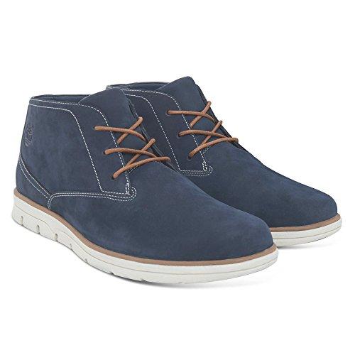 Plain Iris Mens Timberland Bradstreet Chukka Black Toe Nubuck Boots 0wEnaZfxq