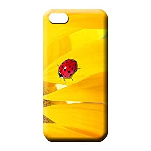 iphone 6plus 6p Excellent High-definition Snap On Hard Cases Covers cell phone skins sunflower ladybug