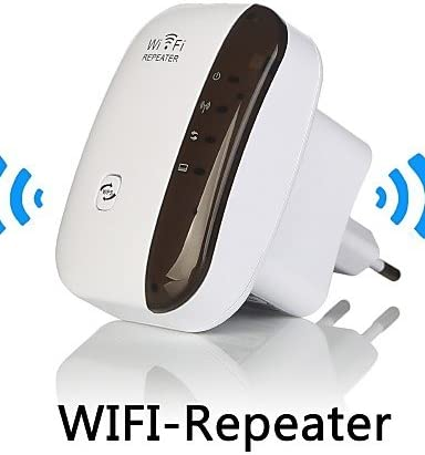 fantiff Ripetitore del Segnale di espansione della Gamma di amplificatori del Router di Rete del ripetitore Wi-Fi Wireless Ripetitori