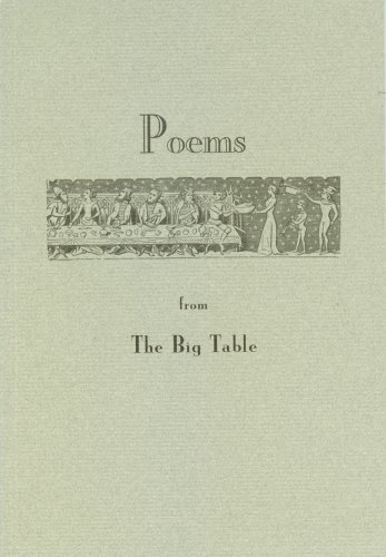 Poems from The Big Table