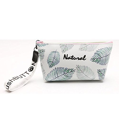 lotus.flower Feather Print Stationery Pencil Case┃Pouch Pe