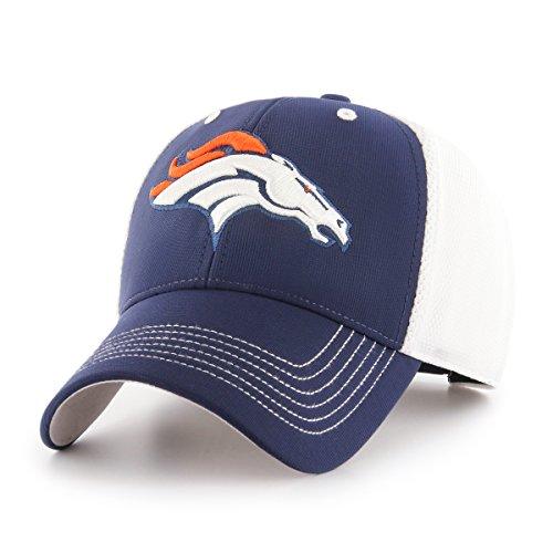 NFL Denver Broncos Sling OTS All-Star MVP Adjustable Hat, Light Navy, One Size -