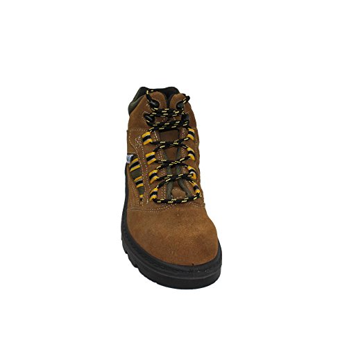 COFAN - Calzado de protección de Piel para hombre Marrón marrón Marrón - marrón