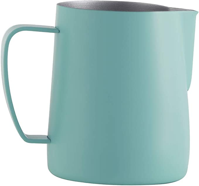 Rainbow Professional Espresso Milk Frothing Pitcher,Coffee Milk Frothing Cup,Coffee Steaming Pitcher joyMerit 20-oz Espresso Steaming Pitcher