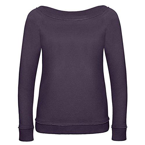 B&C Denim - Sudadera - para mujer PurpleSmoke