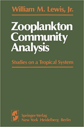 zooplankton community analysis lewis w m jr