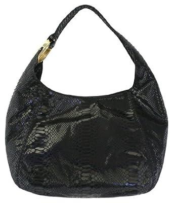 2425e5e7ec9a6e Amazon.com: MICHAEL Michael Kors Fulton Medium Shoulder Bag (Black ...