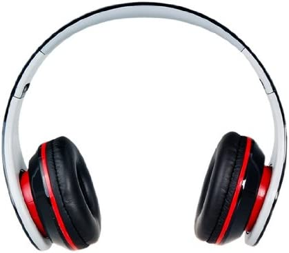 Langston ® Super Bass High Definition Sound Over Ear Foldable Headphones ( iM-12v ) in Blue With Microphone & Remote Suitable For Medion Life E4001 Black Super Bass iM-12v