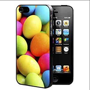 Colorful Easter Eggs Hard Snap On cell Phone Case Cover iPhone 4 4s