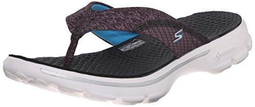 Skechers Go Walk - Pizazz - Zapatillas de deporte para mujer Black/Multi/White