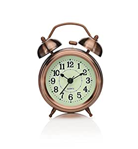 Amazon Com Peakeep 3 Quot Small Twin Bell Alarm Clock With