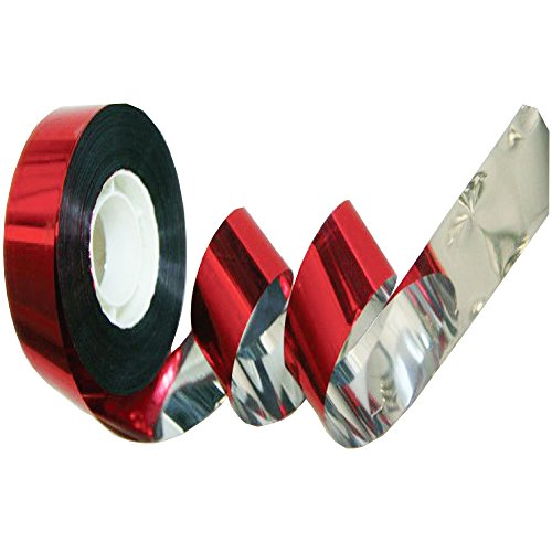 Haierc Scare Birds Tape,Reflective Bird Deterrent and Bird Control Device, Holographic Reflector Ribbon, Scare Birds, Woodpeckers, Pigeons -325 ft. x (Ribbon Device Types)