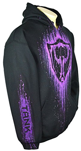 Sid Vicious League Of Legends Hoodie Custom Airbrushed Tank Design, Pullover + Name, Adult, Large, Black