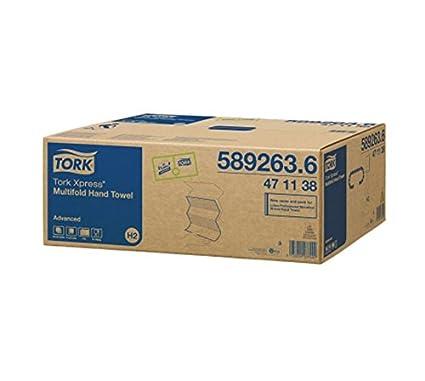 Tork Xpress - Dispensador de servilletas de papel plegadas en Z de 21,3