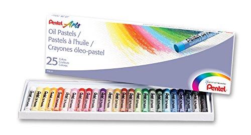 Pentel Arts Pastels Count PHN 25