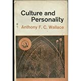 Culture and Personality, Anthony F. Wallace, 0394308565