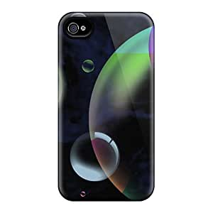 Pretty VvU6167OFYK Iphone 4/4s Case Cover/ Bubble Town Series High Quality Case