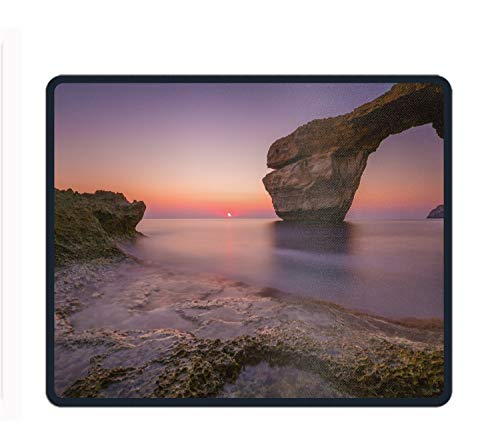 New Mouse Pad Earth Arch Horizon Sunset Ocean Customized Rectangle Non-Slip Rubber Mousepad Gaming Mouse Pad ()