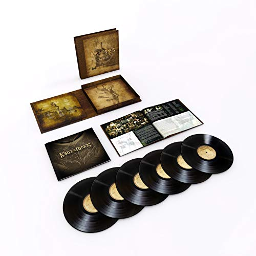 The Lord Of The Rings Trilogy - Original Motion Picture Soundtrack (6LP, Black Vinyl) -
