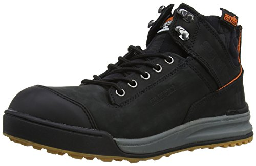 UK T52340 41 Safety EU 7 Black Black Switchback Boots Scruffs Men's OaqUA