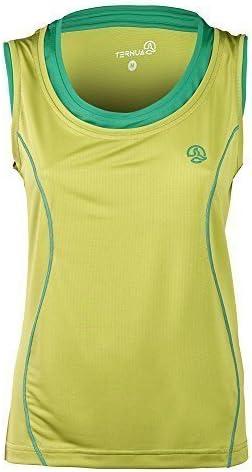 Ternua Ahaura 1205958-2232 - Camiseta para mujer, color amarillo amarillo XL: Amazon.es: Deportes y aire libre