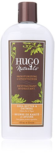 Hugo Naturals Conditioner, Shea Butter and Oatmeal, 12 Ounce Bottle