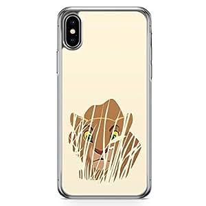 Loud Universe Nala Lion King iPhone XS Max Case Simba Lion King iPhone XS Max Cover with Transparent Edges
