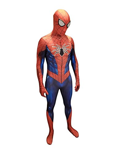 All New Spider-Man Costume | Cosplay Costume | Spiderman Bodysuit | Spiderman Suit (Spiderman Bodysuit Costumes)