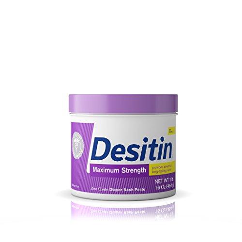 Desitin Diaper Rash Maximum Strength, Original Paste, 16 - Ointment Desitin Rash Diaper Original