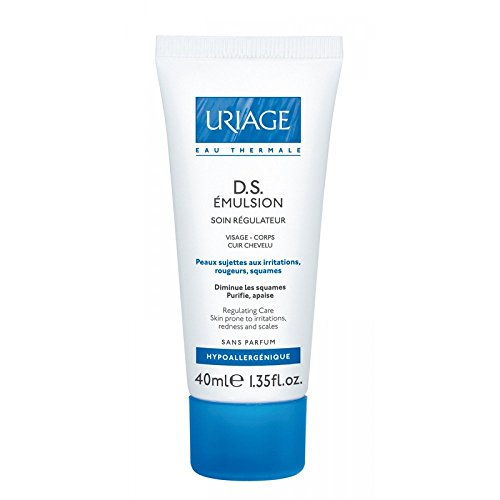 Uriage D.s. Gel Emulsion Regulating Care for Skin Prone to Irritations, Redness and Scales 40 Ml