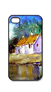 Hard Plastic and Aluminum Back case iphone 4s boys - Sunflowers