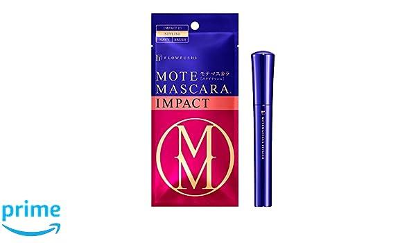 cf56f233cf0 Amazon.com : FlowFushi Mote Mascara Impact 03 Stylish Navy for Women, 0.2  Ounce : Beauty